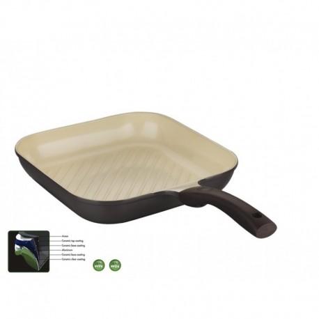 Korkmaz Patenia Ceramiczna Natura Grill 28 cm