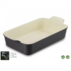 Korkmaz Brytfanna Ceramiczna Do Zapiekania Natura 4,2L
